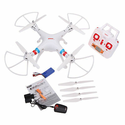 SYMA X8C 2.4G 4CH 6-Axis Gyro RC Quadcopter RTF Drone with 2.0MP HD Camera White