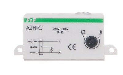 F&F miniatur Dämmerungsschalter AZH-C twilight switch LIGHT DEPENDENT RELAY