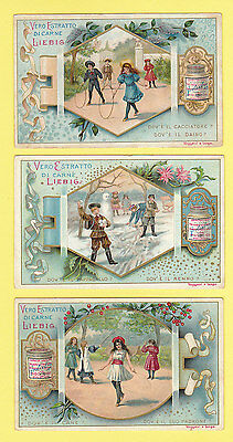Liebig - Set Of 6 Cards -  S 525  /  F 524  -  Puzzles  Xx  -  1897