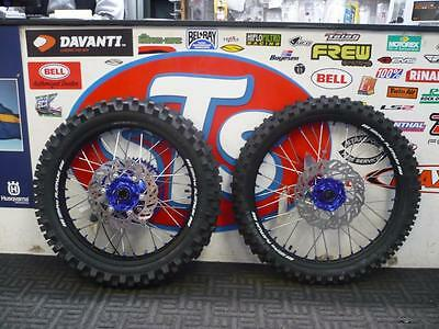 Yamaha Yz Yzf Wheel And Tyre Package Complete Sm Pro