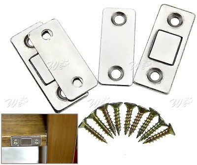 5PCS STRONG MAGNETIC Catch Latch Ultra Thin for Door Cabinet