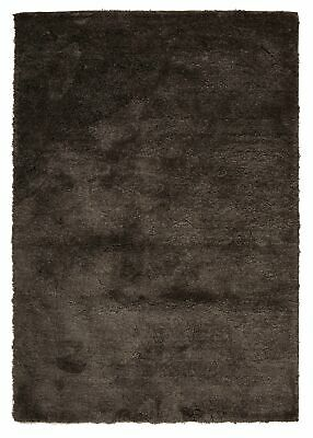 NEW Texture Dark Brown Shag Rug