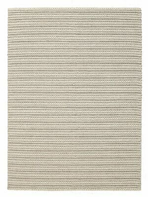 NEW Hellena Braied Grey Felted Wool Rug