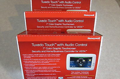 Honeywell Tuxedo Touch Control TUXWIFI Color Graphic Keypad TUXWIFIW 3 Lot