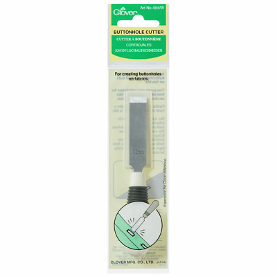 Button Hole Cutter - White