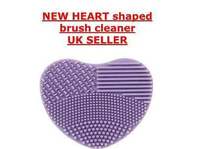 NEW Heart shape  MAKEUP BRUSH CLEANER, cosmetic cleaner