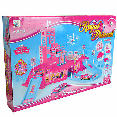 Royal Princess Car Playing Children Girls Toy Set Pack Pink includes 4 Vehicles