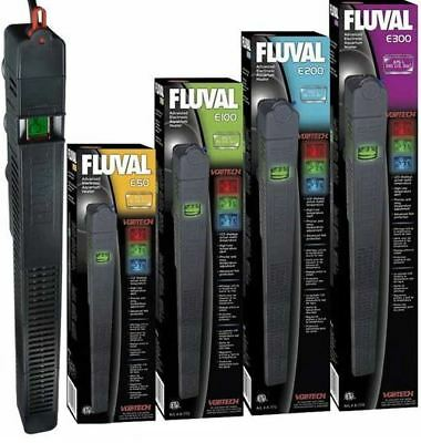 Fluval Electronic Aquarium Fish Tank Heater Thermostat LCD Thermometer Display