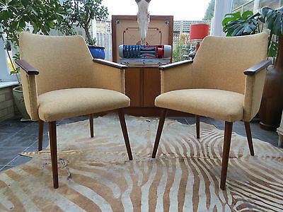 Pair Of Vintage East German Cocktail Armchairs Circa1975  Great Condition (A16\9