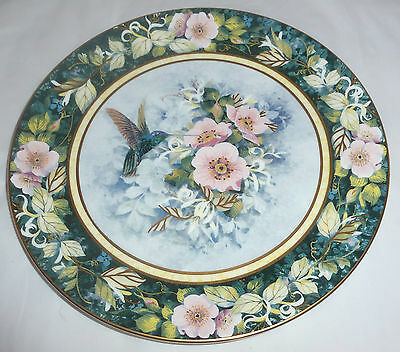 Royal Doulton - The Rivoli Hummingbird Plate - (G482)