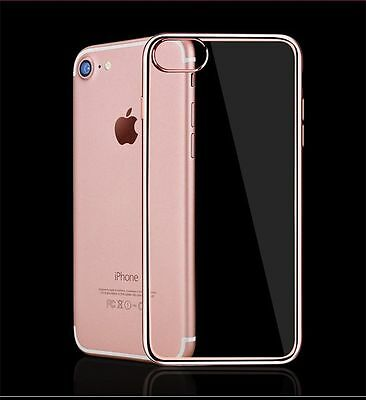 Apple iPhone 7 Ultra Thin Soft TPU Gel Jelly Skin Case Cover Crystal Clear