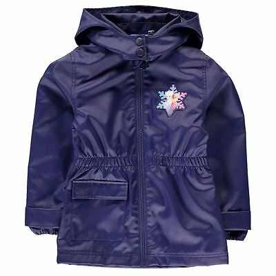 Girls Character Wax Jacket Disney Frozen New With Tags