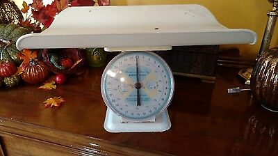 VTG American Family Baby Nursery Scale 30 lbs baby scale