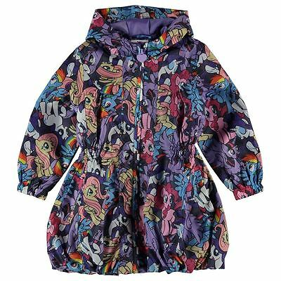 Girls Character Rain Mac Jacket My Little Pony New With Tags