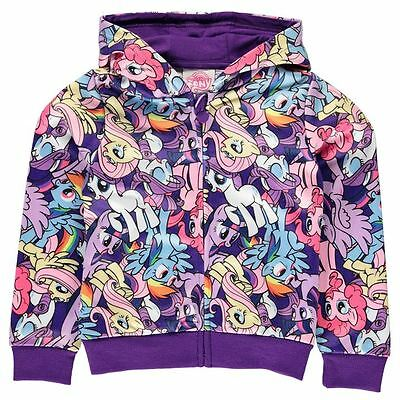 Girls Character Full Zip Hoody My Little Pony New With Tags