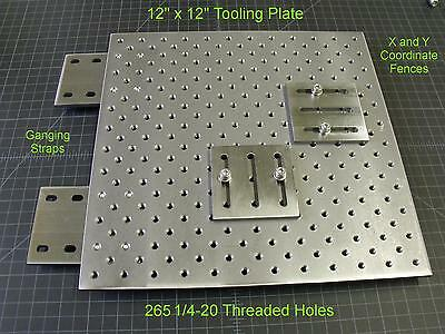 Tooling plate coordinate system, Punch Press Brake,Milling,Optical, TLPLATE1