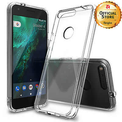 Google Pixel XL Case | Ringke [FUSION] Clear Shock Absorption Protective Cases