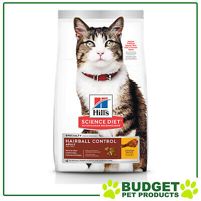 Hills Science Diet Feline Dry Adult Hairball Control For Cats 4kg