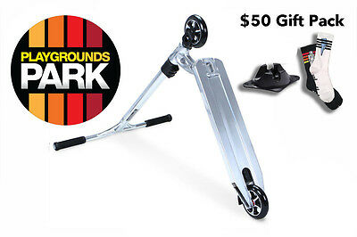 MGP VX6 TEAM scooter - Chrome - $50 Gift Pack ( LIMITED EDITION / Madd Gear)