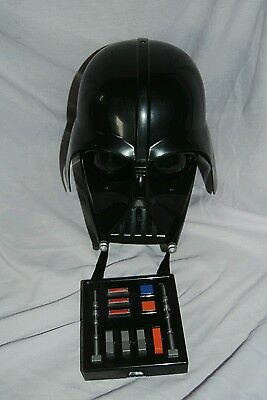 Darth Vader helmet voice changer with sound effects Hasbro 2004