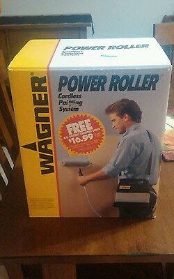 NIB Wagner Power Roller Cordless Painting System