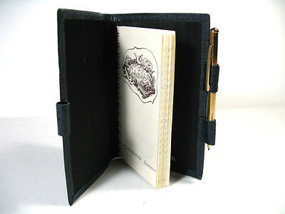 Carlos Falchi Unisex Leather Holder For Agenda, Diary Or Notes. New