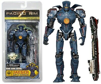 "Pacific Rim Hong Kong Brawl Gipsy Danger Jaeger 7"" Action Figure NECA  Series 4"