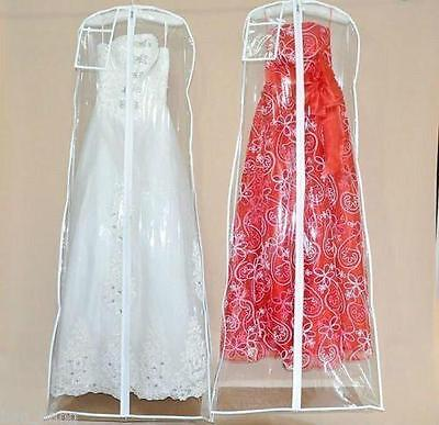 Anti-Dust Wedding Dress Plastic Protector PVC Bags Proof Dust Cover For Dresses