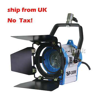 Fresnel Tungsten Spotlight 300W Lighting Studio camera Video