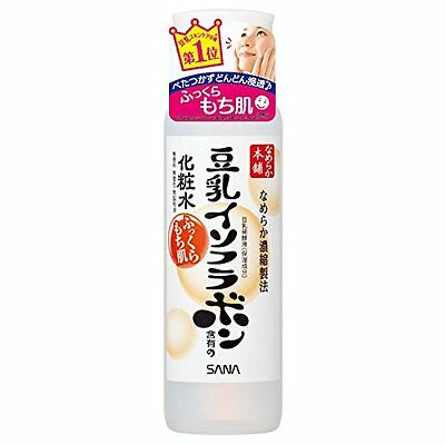 JAPAN SANA Nameraka Honpo MOISTURE SKIN LOTION 200mL Soymilk Isoflavone combined