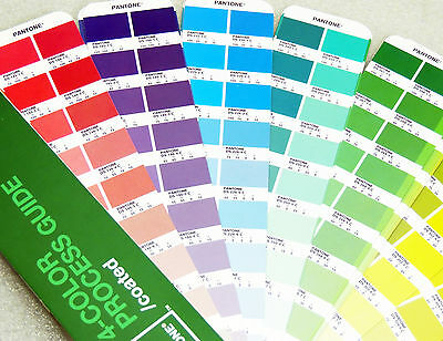 Pantone 4 Color Process Guide CMYK Coated (2005) ~ Extra Long Edition