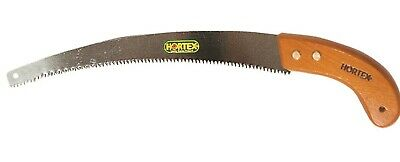 Hortex HEAVY DUTY PRUNING SAW 325mm Carbon Steel Blade, Wooden Handle AUST Brand