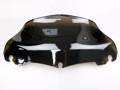 "Light Smoke 9"" Wave Windshield Windscreen for 2014-2016 Harley Street Glide"