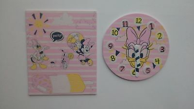 Disney Minnie Mouse Wet N Stick Bathtime Floating Island And Clock