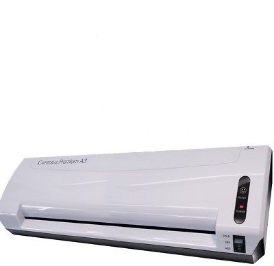 CATHEDRAL HOME OFFICE A4/A3 HOT LAMINATOR LAMINATING MACHINE + 20 pouches A4
