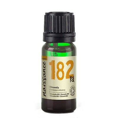 Naissance Citronella Certified Organic Essential Oil Use in Aromatherapy