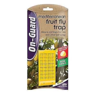 On-Guard MEDITERRANEAN FRUIT FLY INSECT TRAP, Traps Citrus Gall Wasps Non Toxic