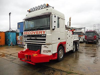 Daf FTS XF95.480 6x2 Recovery Truck