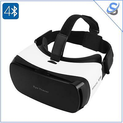 Virtual Reality 3D Glasses For 3.5 To 5.5 Inch Smartphones 110 FOV Bluetooth