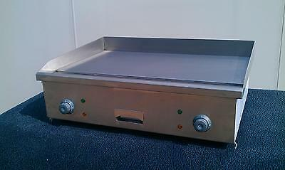 New Commercial Kitchen Electric Flat Griddle 73cm 730mm 2.4ft Grill/ Hotplate