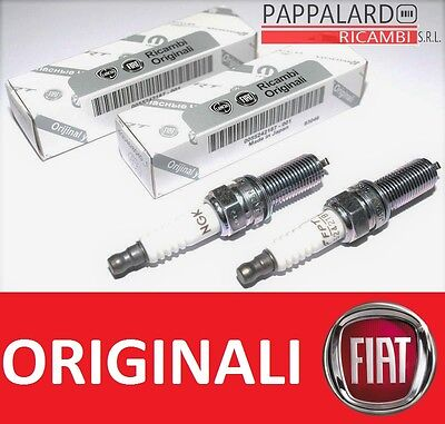 2 Candele Originali Fiat Panda Punto 500 500L 0.9 Twinair - 0.9 Natural Power