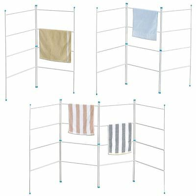 2/3/4 Fold Airer Clothes Drying Rack Folding Gate Laundry Horse Indoor/outdoor