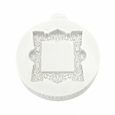Katy Sue Miniature Vintage Square Frame Silicone Mould Decoration Cake Crafting