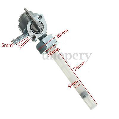 Gas Petcock Fuel Tap Valve Switch Pump For HONDA CB550F CB750F CB550 CB750K 16mm