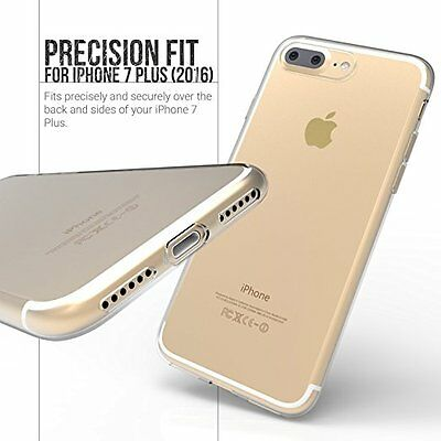 For Apple iPhone 7 PLUS Case Transparent Crystal Clear Case Gel TPU Soft Cover S
