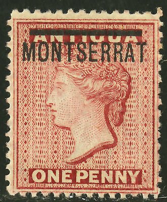 Montserrat   1884   Scott #  6   Mint Lightly Hinged