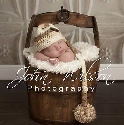 ***handmade Photo Prop Baby Elf Hat Newborn-3Mths ***