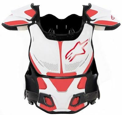 Alpinestars A8 Chest Protector Bns Wh/rd