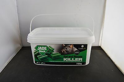 720g Jade Rat Poison Blocks Mice Killer Strong Bait Rats Mouse