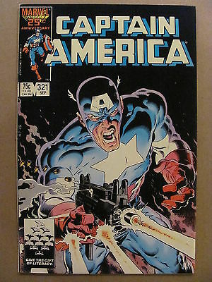 Captain America #321 Marvel Comics 1968 Series classic Mike Zeck cover 9.2 NM-